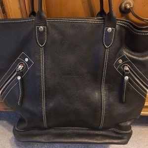 Longchamps leather bag